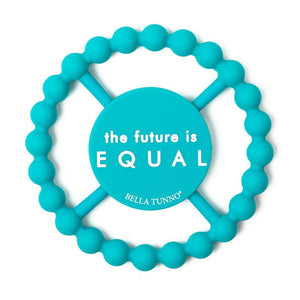 BELLA TUNNO Happy Teether - Future is Equal - PinkiBlue