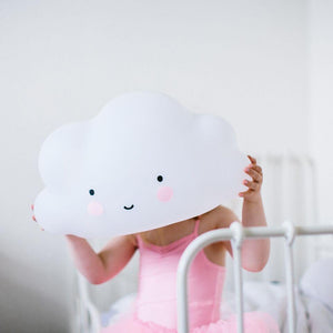 A LITTLE LOVELY COMPANY Night Light - Big Cloud - PinkiBlue