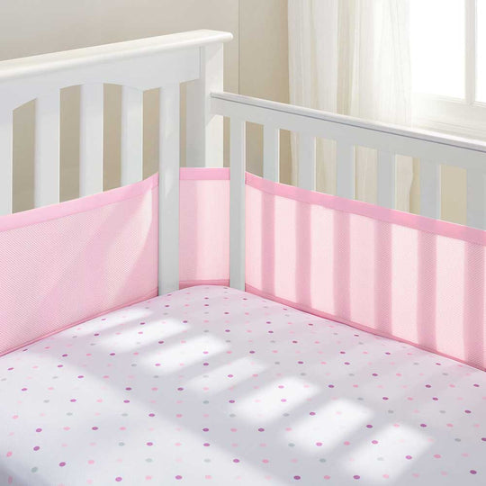 BreathableBaby - BREATHABLEBABY Breathable Crib Bumper - Available at Boutique PinkiBlue