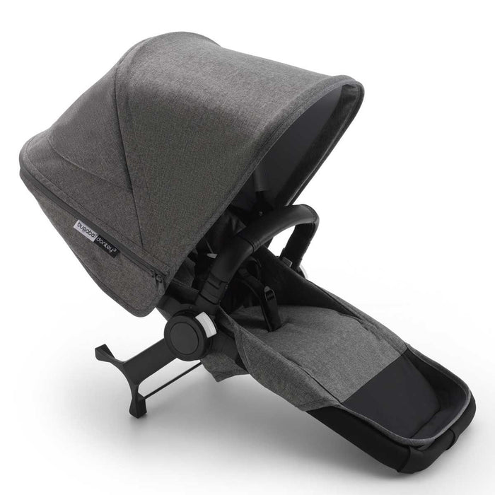 BUGABOO DONKEY 3 Duo Extension Set Complete - Grey Melange