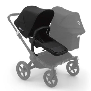BUGABOO DONKEY 3 Duo Extension Set Complete - Black - PinkiBlue