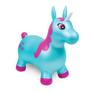 WADDLE Bouncy - Aqua Starshine Unicorn - PinkiBlue
