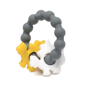 CHEWBEADS Central Park Teether - PinkiBlue