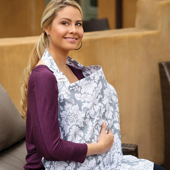 Bebe au Lait - BEBE AU LAIT Nursing Covers - Premium Cotton - Available at Boutique PinkiBlue