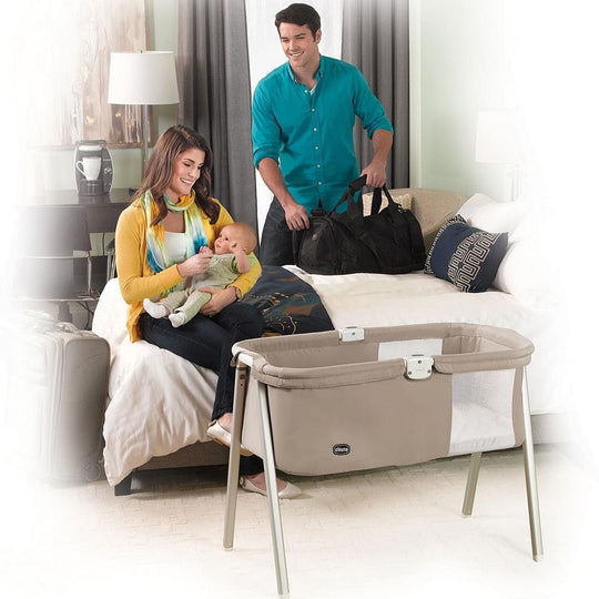Chicco - CHICCO LULLAGO Portable Bassinet - Available at Boutique PinkiBlue
