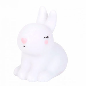 A LITTLE LOVELY COMPANY Little Night Light - Bunny - PinkiBlue