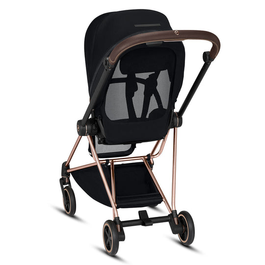 CYBEX Mios Stroller - Chrome/Brown Frame