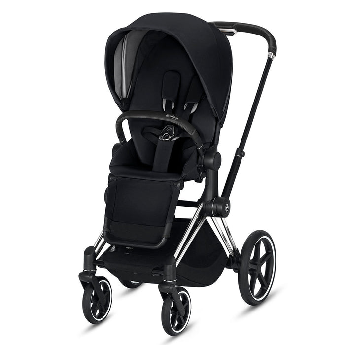 CYBEX Priam Stroller - Chrome/Black Frame