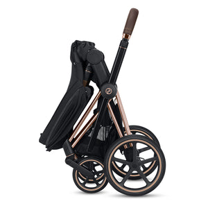 CYBEX Priam Stroller - Chrome/Black Frame - PinkiBlue