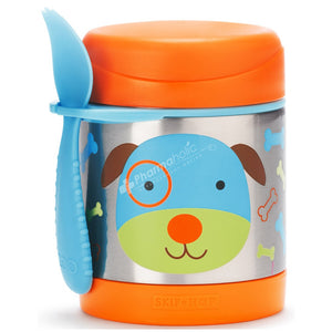 SKIP HOP Zoo Insulated Food Jar - PinkiBlue