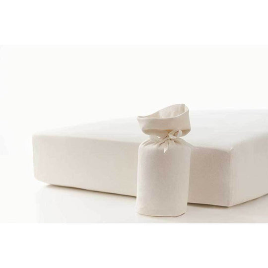 BOUTON JAUNE Organic Fitted Crib Sheet