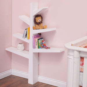 BABYLETTO Spruce Tree Bookcase - PinkiBlue