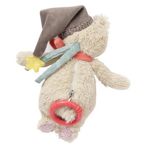 FEHN Bruno Musical Bear - PinkiBlue
