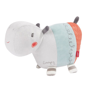 FEHN Hippo Loopy Musical - PinkiBlue