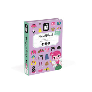 JANOD MagnetiBook - Girl Costumes - PinkiBlue