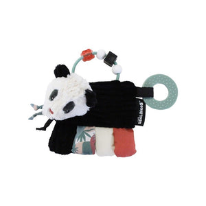 DEGLINGOS Activity Teether - Rototos The Panda - PinkiBlue