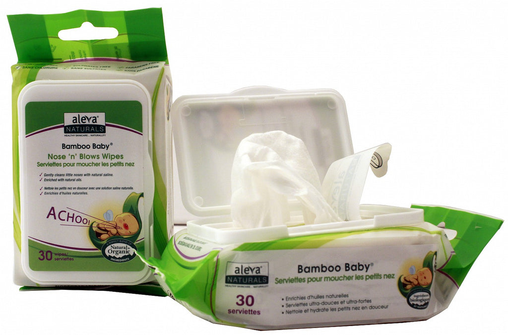 Aleva - ALEVA NATURALS Nose 'N Blows Wipes - Available at Boutique PinkiBlue