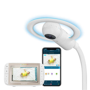 MOTOROLA Halo Crib Monitor With Display - PinkiBlue