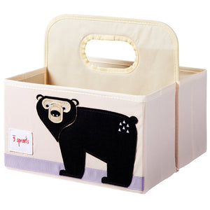 3 SPROUTS Diaper Caddy - PinkiBlue