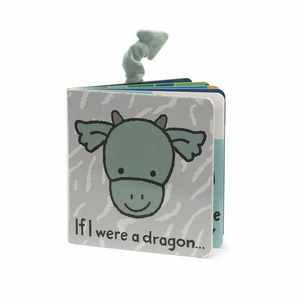 JELLYCAT Book If I Were A Dragon - PinkiBlue