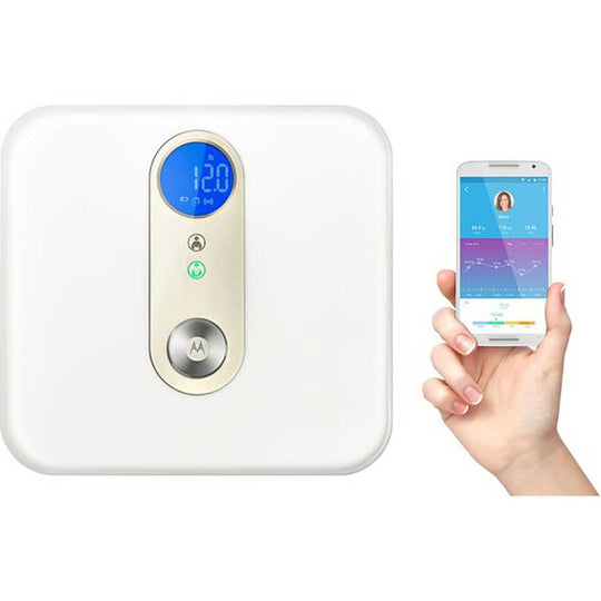 Motorola - MOTOROLA Smart Nursery Baby & Me Scale - Available at Boutique PinkiBlue