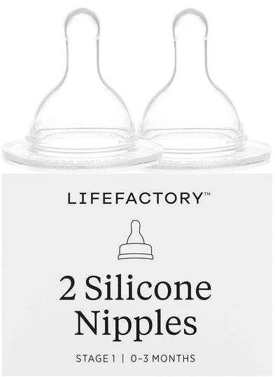 Lifefactory - LIFEFACTORY Replacement Nipples - Available at Boutique PinkiBlue