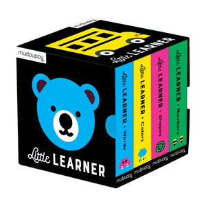 MUDPUPPY Little Learner Board Book Set - PinkiBlue