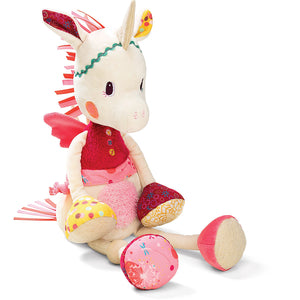 LILLIPUTIENS Cuddly - Louise The Unicorn - PinkiBlue