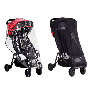 MOUNTAIN BUGGY Nano all Weather Cover Set - PinkiBlue