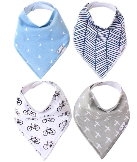 COPPER PEARL Bandana Bibs (4 Pack)