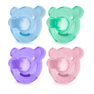 PHILIPS AVENT Soothie Bear Pacifier - PinkiBlue