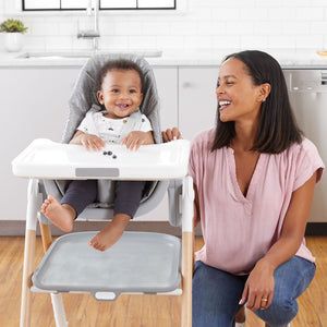 SKIP HOP Sit To Step Highchair - PinkiBlue