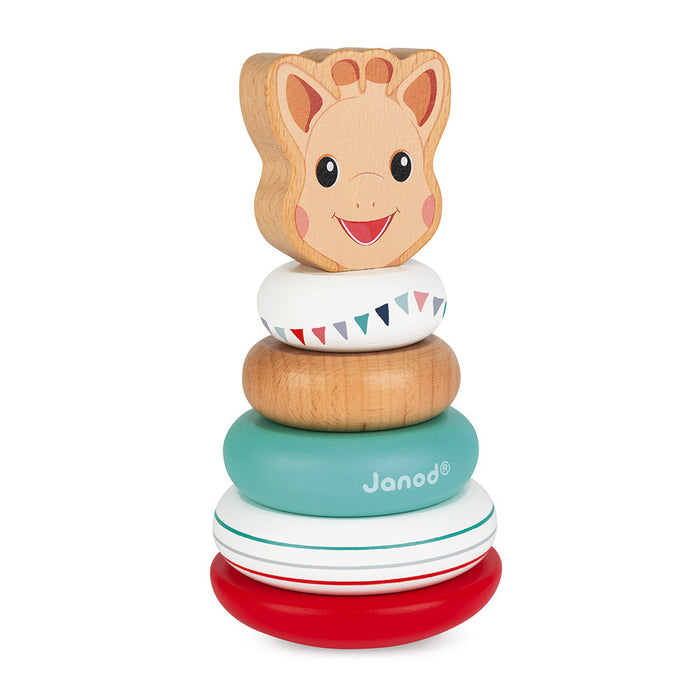SOPHIE LA GIRAFE Janod Stackable Toy