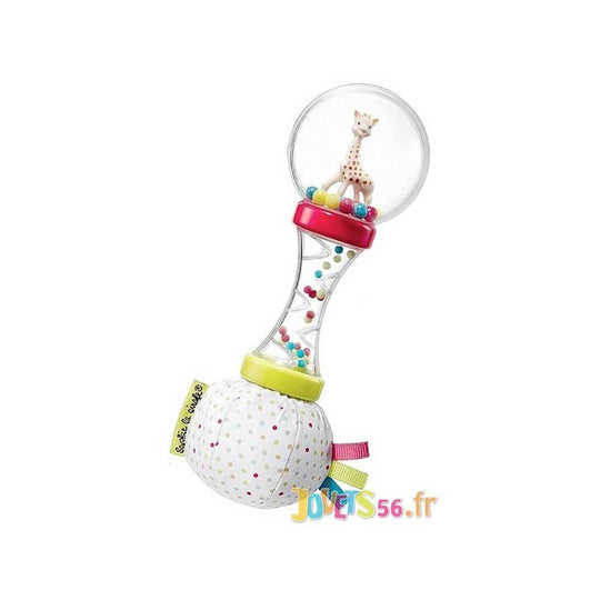 Sophie La Girafe - SOPHIE LA GIRAFE Maracas Rattle - Available at Boutique PinkiBlue
