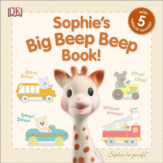Sophie La Girafe - SOPHIE LA GIRAFE Sophie Big Beep Beep Book - Available at Boutique PinkiBlue
