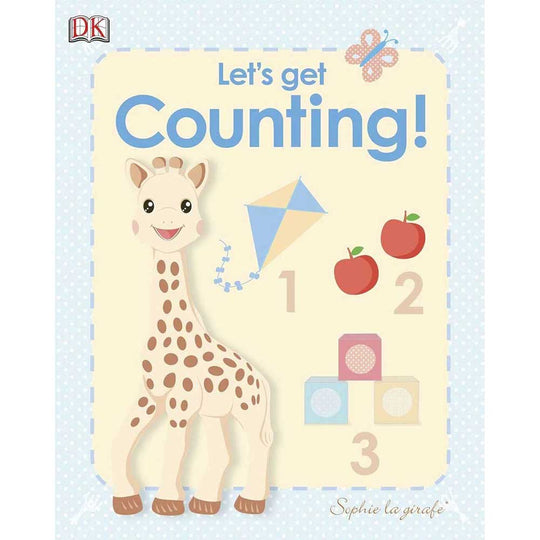 Sophie La Girafe - SOPHIE LA GIRAFE Let's Get Counting - Available at Boutique PinkiBlue