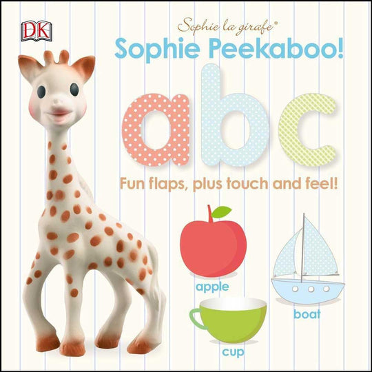 Sophie La Girafe - SOPHIE LA GIRAFE Peekaboo ABC - Available at Boutique PinkiBlue