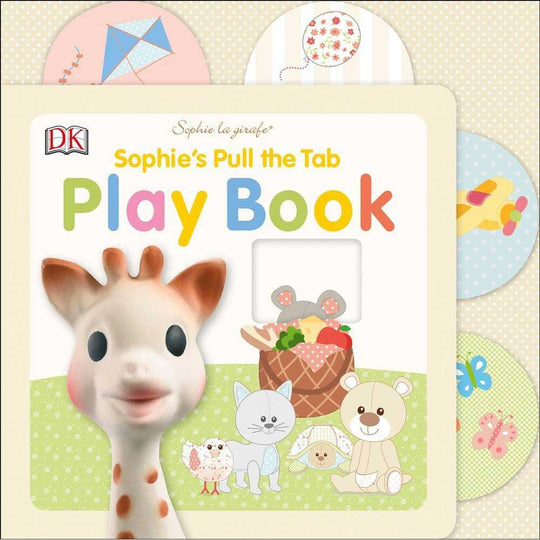 Sophie La Girafe - SOPHIE LA GIRAFE Pull The Tab Playbook - Available at Boutique PinkiBlue
