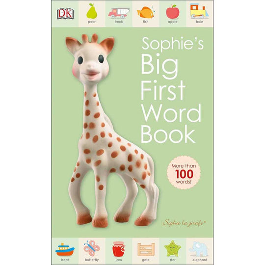 Sophie La Girafe - SOPHIE LA GIRAFE Sophie's Big First Word Book - Available at Boutique PinkiBlue