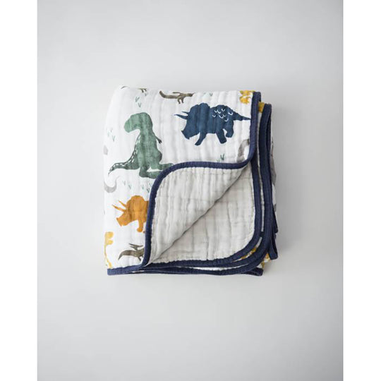 Little Unicorn - LITTLE UNICORN Cotton Muslin Quilt - Available at Boutique PinkiBlue