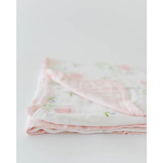 Little Unicorn - LITTLE UNICORN Deluxe Cotton Muslin Quilt - Available at Boutique PinkiBlue