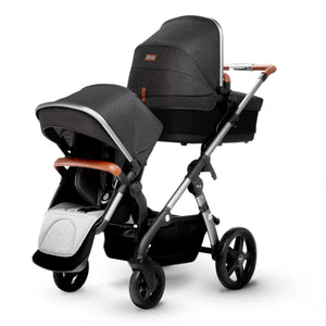 SILVER CROSS Wave Stroller - Granite - PinkiBlue