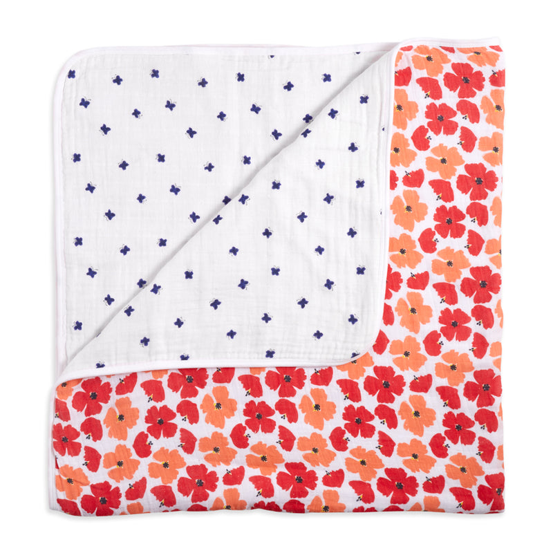 ADEN AND ANAIS Classic Dream Blanket - White Label