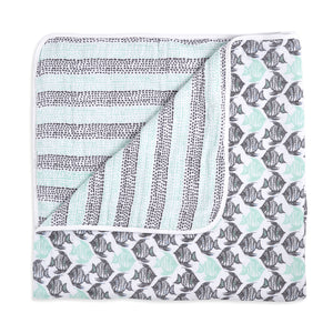 ADEN AND ANAIS Classic Dream Blanket - White Label - PinkiBlue