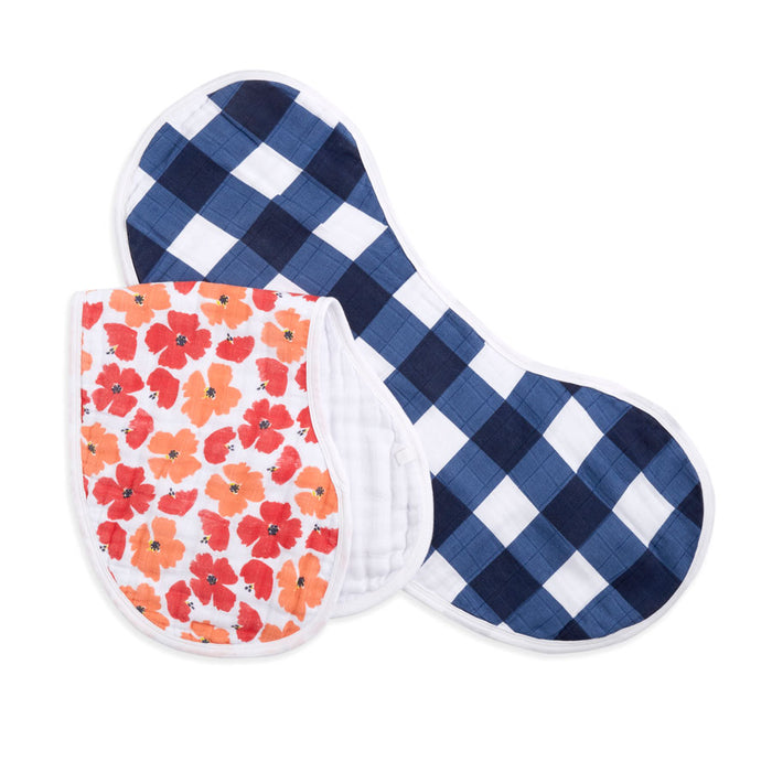 ADEN AND ANAIS Classic Burpy Bibs - White Label
