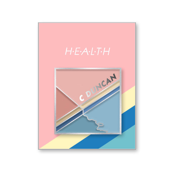 HEALTH ENAMEL PIN