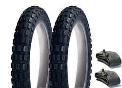 Mothercare Movix / MY3 /MY4 Rear Pram Tyre & Inner Tube Set of 2 (Heavy Duty)