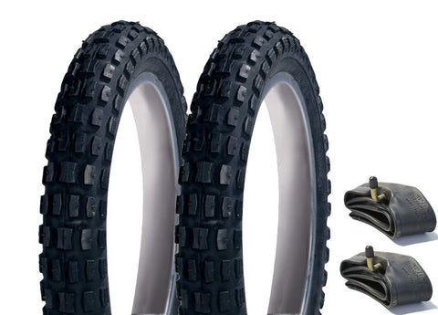 O Baby Pram Tyre & Inner Tube Set of 2 (Heavy Duty)