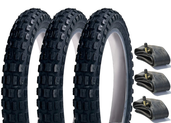 Out n About Nipper Pram Tyre & Inner Tube Set of 3 (Heavy Duty)