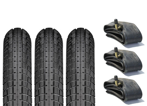 Mountain Buggy Urban Pram Tyre & Inner Tube Set of 3 (Semi Slick)